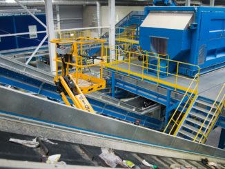 Комплекс по переработке отходов. Линия сортировки