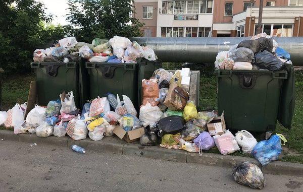 уборка мест накопления ТКО