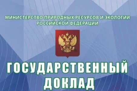 государственный доклад о состоянии и об охране окружающей среды Российской Федерации в 2019 году