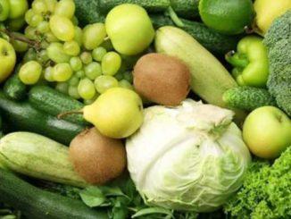 зеленых продуктов
