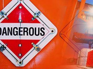 Запрет перегрузки опасных грузов в море