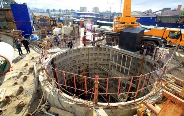 Открытие Охтинского тоннельного канализационного коллектора